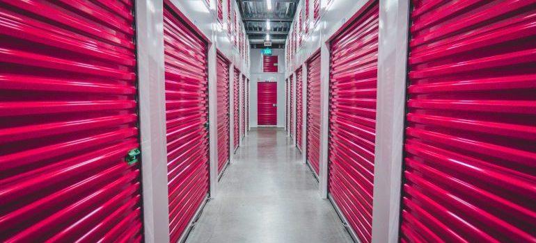 Storage units.