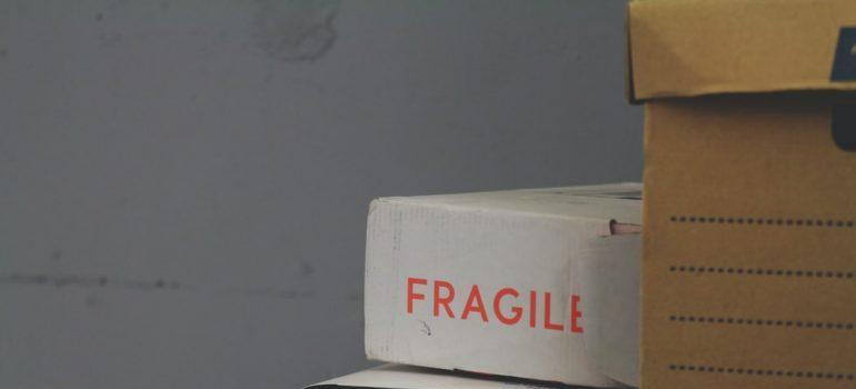 "A box labeled ""fragile"""