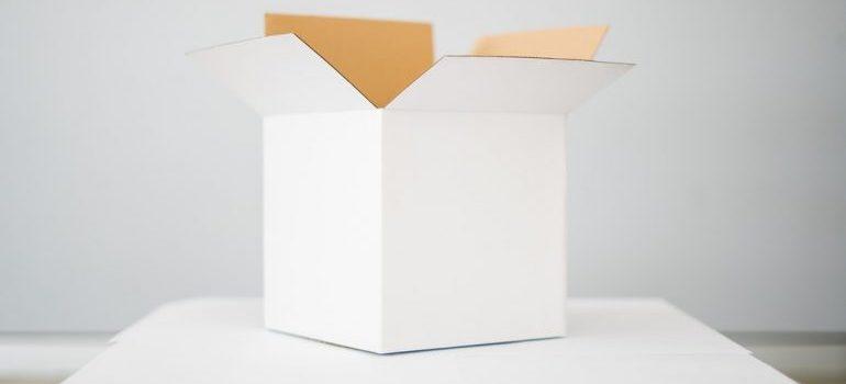 A moving box