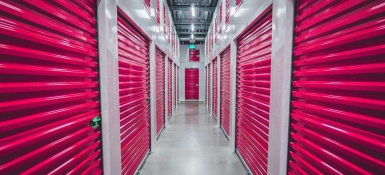a set of storage units
